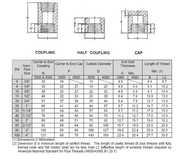 Asme B16 11 Threaded Reducing Coupling Stainless Steel