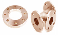 ASTM B462 copper-Nickel High Hub Blend Flanges manufacturer