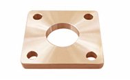 ASTM B462 copper-Nickel Square Flanges manufacturer