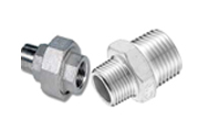 ASTM B564 HastelloyThreaded union (male x female)