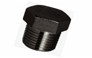 ASTM A105 Carbon Steel Threaded / Screwed Hex Plug