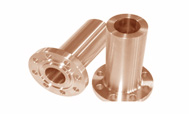 ASTM B152 Copper NickelLong Weld Neck Flanges manufacturer