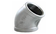ASTM B564 Hastelloy Forged 45 Degree Elbow