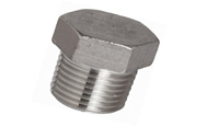 ASTM B564 Hastelloy Threaded / Screwed Hex Plug