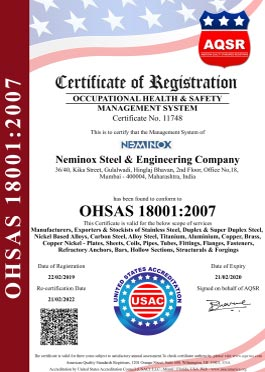 Occupational Health & Safety Management Certificate
